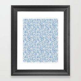 Schoolyard Aviation White Framed Art Print