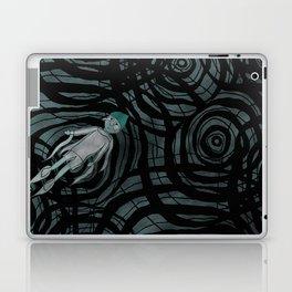 '跳下去的一秒 The Moment While Jumping off' Illustration 12 Laptop & iPad Skin