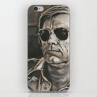 phil jones iPhone & iPod Skins featuring Jones by Buddy Owens Paintings