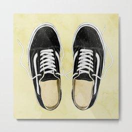 boy's sneakers stayhome Metal Print