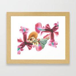 LA BELLE FLEUR Framed Art Print