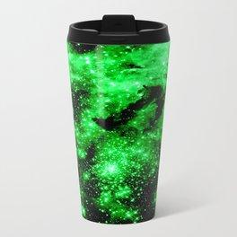 Green Galaxy Travel Mug