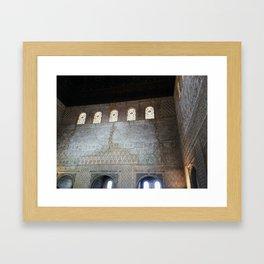 + intricate space Framed Art Print