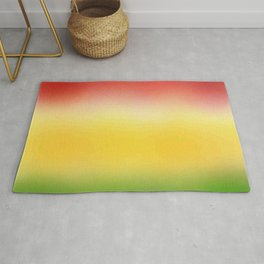 flag of bolivia 6 - with cloudy colors Rug