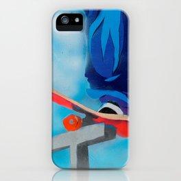 Rail grind iPhone Case