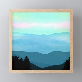 The Great Smoky Mountains Framed Mini Art Print