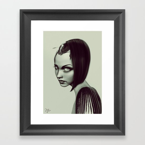 Insection Framed Art Print