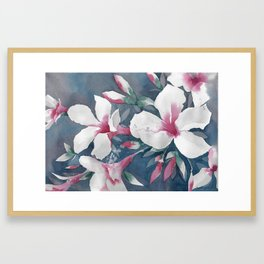 Desert Rose Framed Art Print