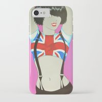 union jack iPhone & iPod Cases featuring Union Jack by Redpencil