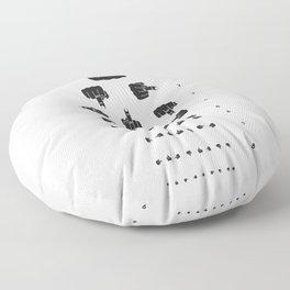 MIDDLE FINGER VISION TEST Floor Pillow