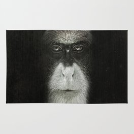 Debrazza's Monkey Square Rug