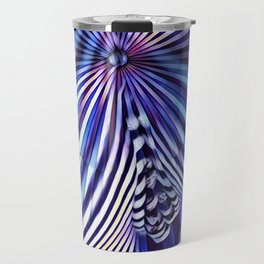 7694s-KMA Abstract Blue Nude Intimate Sexy Hot Travel Mug
