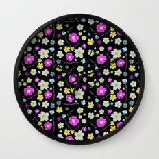 Candy Primrose Wall Clock
