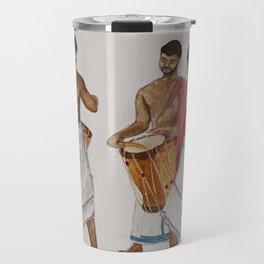 drum players in Allephey Travel Mug