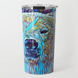 ColorMix Polar Bear Travel Mug