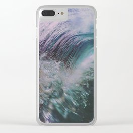 Flash into the light Clear iPhone Case