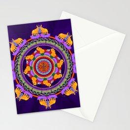 The Lu Mandala; Prosperity & Success Stationery Cards