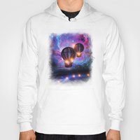 trip Hoodies featuring Space trip. by Viviana Gonzalez