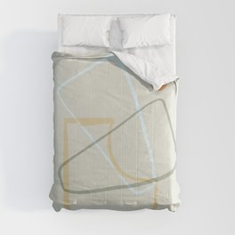 Minimal and geometrical design Comforters