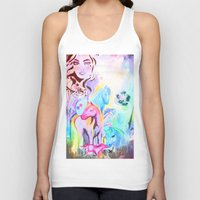carousel Tank Tops featuring carousel by Charlie L'amour