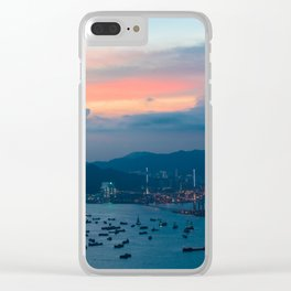 HONG KONG 02 Clear iPhone Case