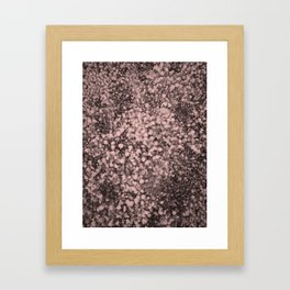 Design with little flowers perfect for many products or gifts Framed Art Print