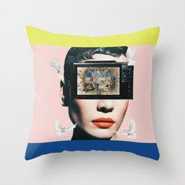 The New Modern Masterpiece Throw Pillow