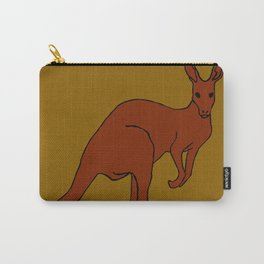 The delightful kangaroo Carry-All Pouch