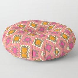 tangerine kilim Floor Pillow