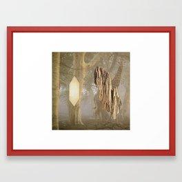 Double Omen Framed Art Print