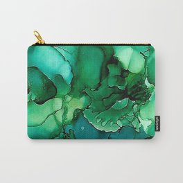 Into the Depths of Sea Green Mysteries Carry-All Pouch