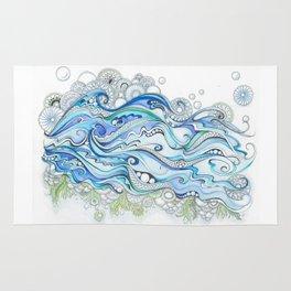 Ocean Seaweed Rug