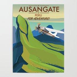 Ausangate Peru.  Into Adventure! Poster