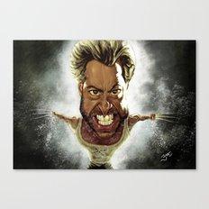 Wolverine Caricature Canvas Print