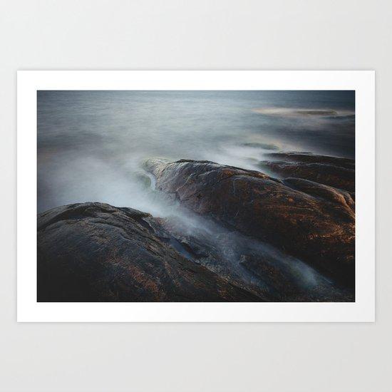 Creatures of the sea Art Print