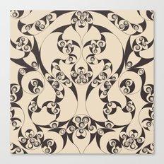 Celtic Loops Natural Canvas Print