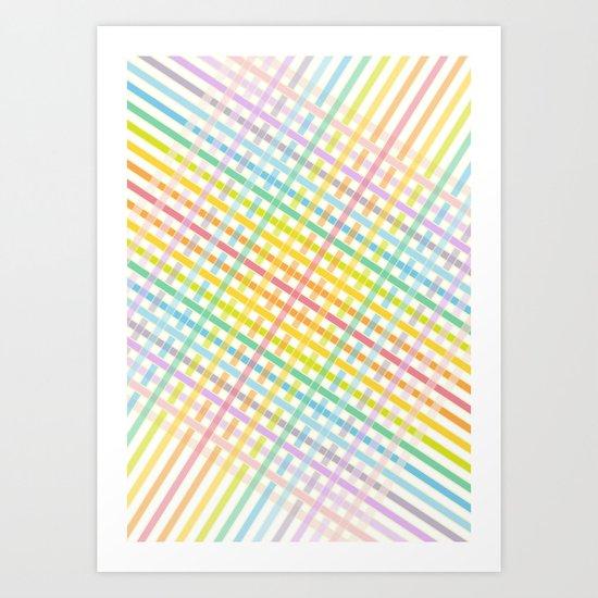 Stripes 5 Art Print