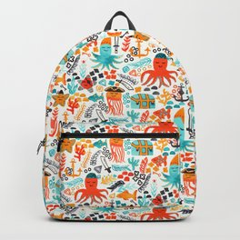 Pirates In The Deep Backpack