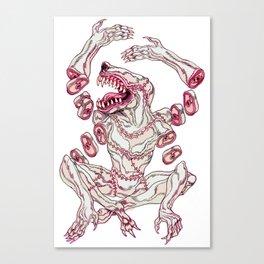 Surgeon Deity Canvas Print