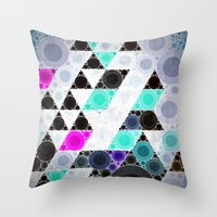 shameless Throw Pillows featuring clyyrcle by Spires