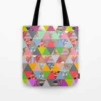 lost Tote Bags featuring Lost in ▲ by Bianca Green