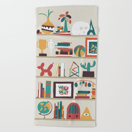 The shelf Beach Towel