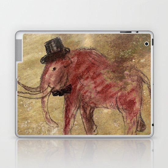 Cave art vintage mamut. Laptop & iPad Skin