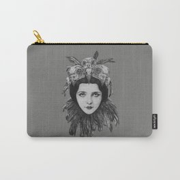 Lady Bird Skull Carry-All Pouch