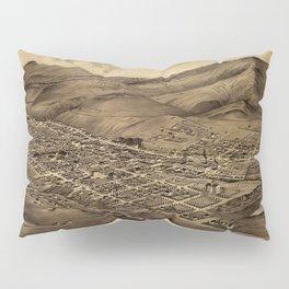 Map Of Helena 1875 Pillow Sham