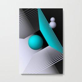 3D-geometry -2- Metal Print