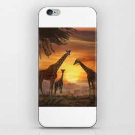 Golden Sunset iPhone Skin