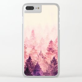 Fade Away III Clear iPhone Case