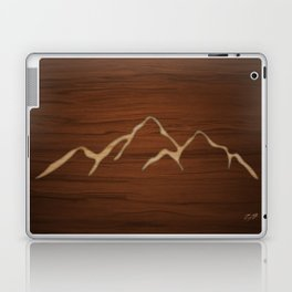 Carved Mountians Laptop & iPad Skin