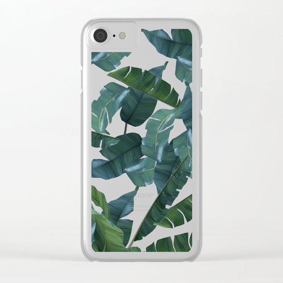 Banana Leaf Decor #society6 #decor #buyart Clear iPhone Case